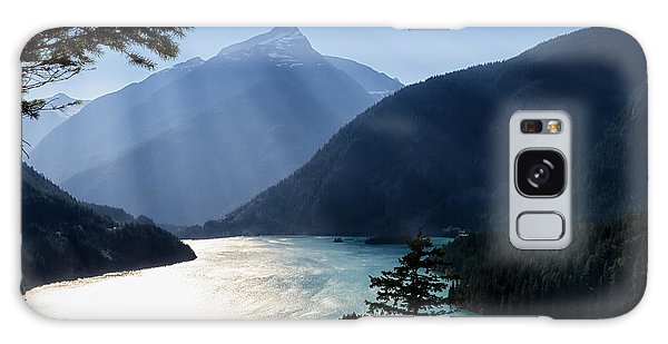 Diablo Lake Galaxy Case by Charles Lupica