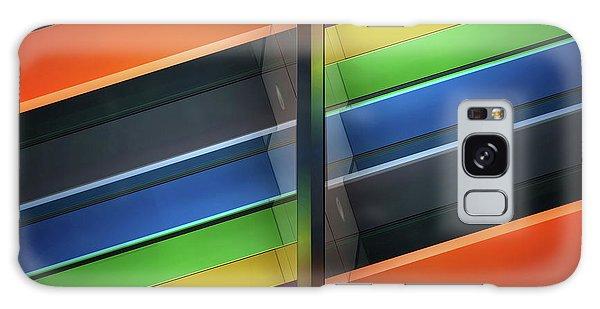 Rainbow Galaxy Case - Diagonal by Henk Van Maastricht
