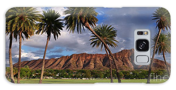 Diamond Head State Monument Before Sunset Galaxy Case