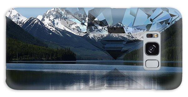 Diamonds Darling Galaxy Case by Ron Davidson