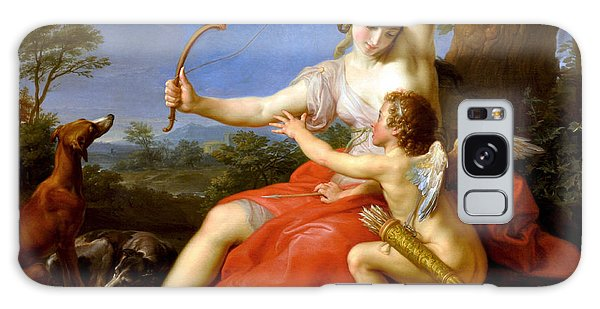 Diana And Cupid Galaxy Case by Pompeo Batoni
