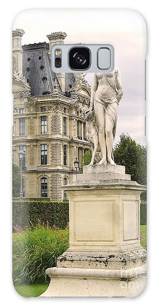 Diana Huntress Tuileries Garden Galaxy Case by Victoria Harrington