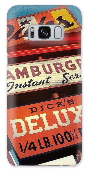 Sixties Galaxy Case - Dick's Hamburgers by Jim Zahniser
