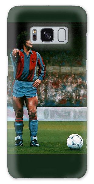 Diego Maradona Galaxy Case
