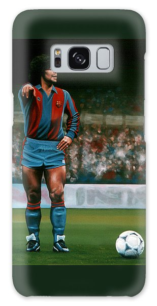 Sportsman Galaxy Case - Diego Maradona by Paul Meijering