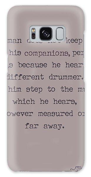 Ok Galaxy Case - Different Drummer by Georgia Fowler
