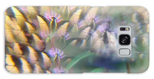 Digital Art Abstract With Swallowtail Galaxy Case