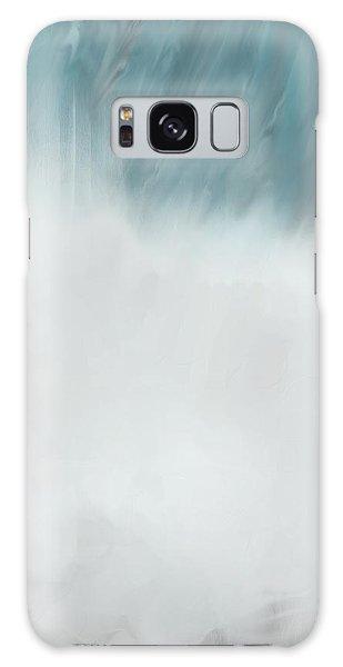 Digital Falls Galaxy Case by Linda Whiteside