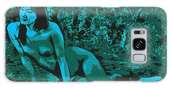 Digital Nude Galaxy Case by Tim Ernst