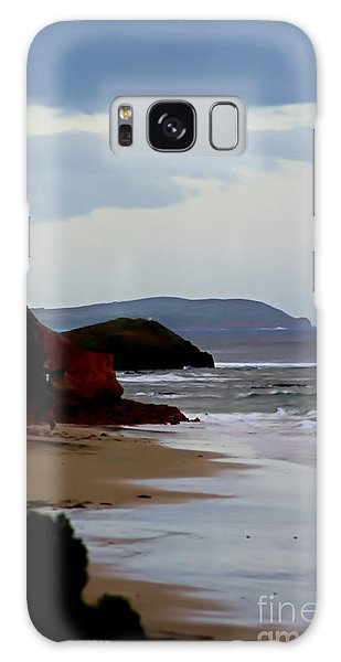 Digital Painting Of Smiths Beach Galaxy Case by Blair Stuart