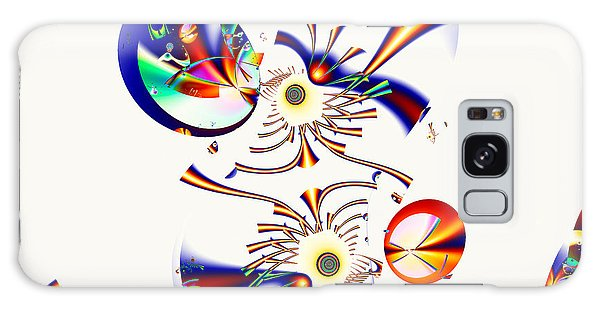 Digital Picasso - Tweet Tweet Galaxy Case