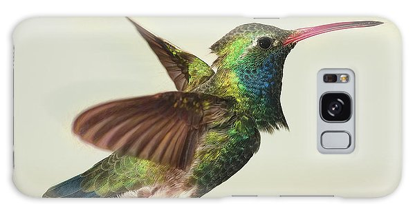 Digitially Modified Broadbilled Hummingbird Galaxy Case