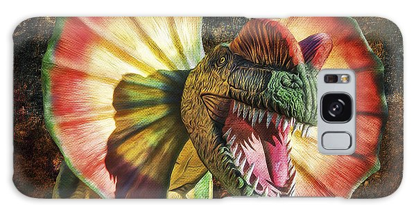 Dilophosaurus Spitting Dinosaur Galaxy Case