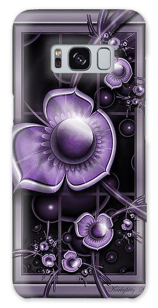 Dimensions Of Purple Galaxy Case
