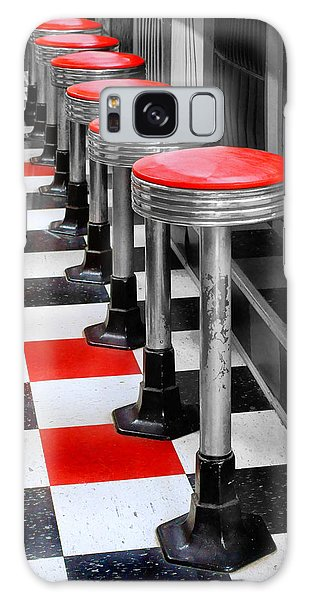 Diner #2 Galaxy Case by Nikolyn McDonald