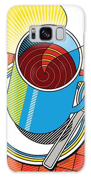 Diner Coffee Galaxy Case