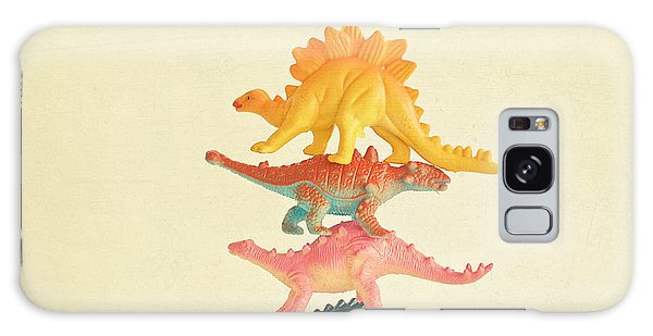 Dinosaur Antics Galaxy Case