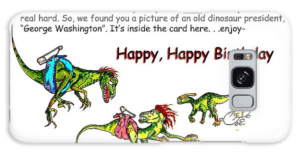 Dinosaur Kids Birthday Galaxy Case