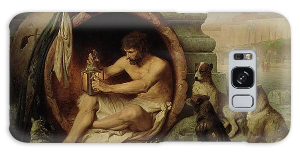 Philosopher Galaxy Case - Diogenes by Jean Leon Gerome