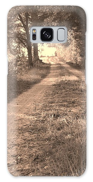 Dirt Road In Moultrie Georgia Galaxy Case by Cleaster Cotton