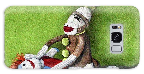 Dirty Socks Galaxy Case by Leah Saulnier The Painting Maniac