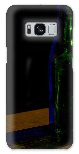 Discarded Bottles 2 Galaxy Case by Mark Alder