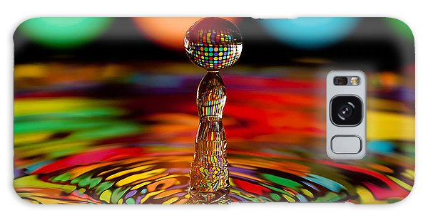 Disco Ball Drop Galaxy Case by Anthony Sacco