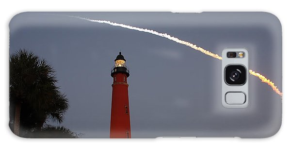 Discovery Booster Separation Over Ponce Inlet Lighthouse Galaxy Case