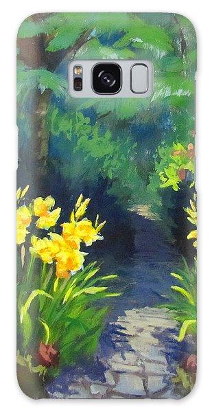 Discovery Garden Galaxy Case by Karen Ilari