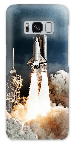 Discovery Hubble Launch Sts-31 Galaxy Case