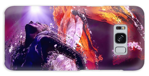 Disintegration Galaxy Case - Disintegration In Moonlight by Clarence Alford