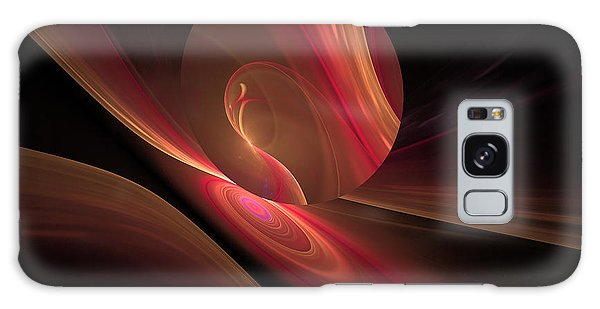 Disk Swirls Galaxy Case