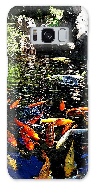 Disney Epcot Japanese Koi Pond Galaxy Case
