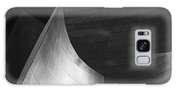 Disney Hall Abstract Black And White Galaxy Case