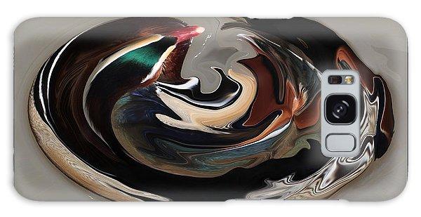 Disoriented Duck  Galaxy Case