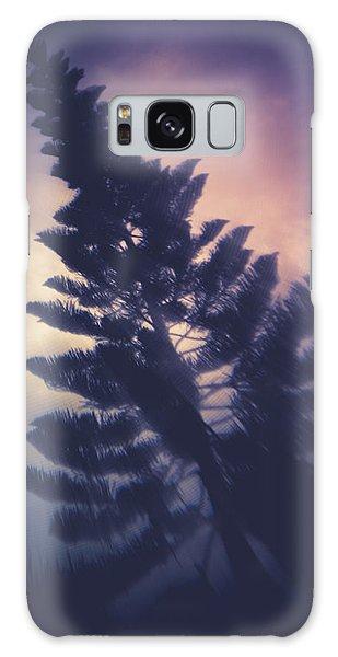 Distorted Pine  Galaxy Case