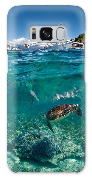 Turtle Galaxy Case - Dive To Philippines by Andrey Narchuk