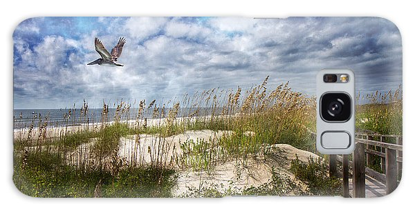 Thought Provoking Galaxy Case - Divine Beach Day  by Betsy Knapp