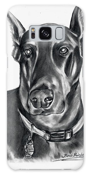 Doberman Pincher Galaxy Case