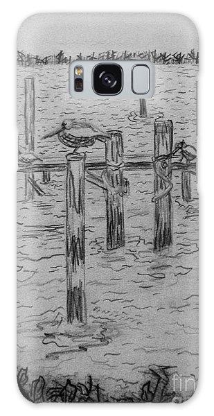 Dock Sketch Galaxy Case