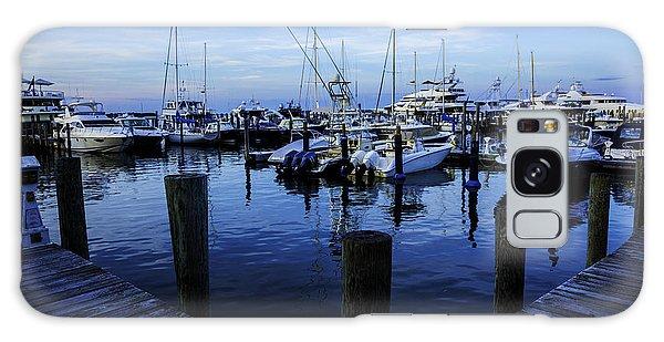 Motor Yacht Galaxy Case - Docked In The Hamptons by Madeline Ellis