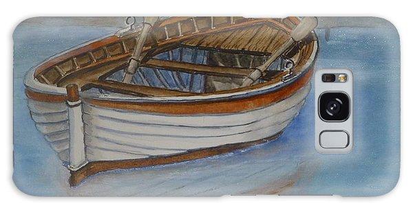 Docked Rowboat Galaxy Case