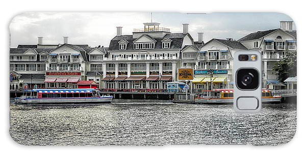 Docking At The Boardwalk Walt Disney World Galaxy Case