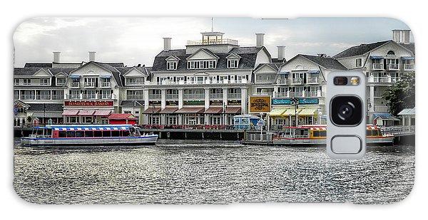 Docking At The Boardwalk Walt Disney World Galaxy Case by Thomas Woolworth