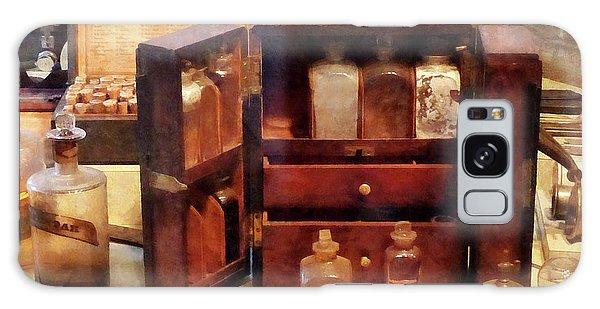 Doctor - Case With Medicine Bottles Galaxy Case by Susan Savad