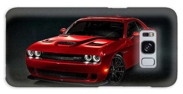 Dodge Challenger S R T Hellcat Galaxy Case by Movie Poster Prints