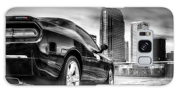 Dodge Challenger Tampa Skyline  Galaxy Case by Michael White