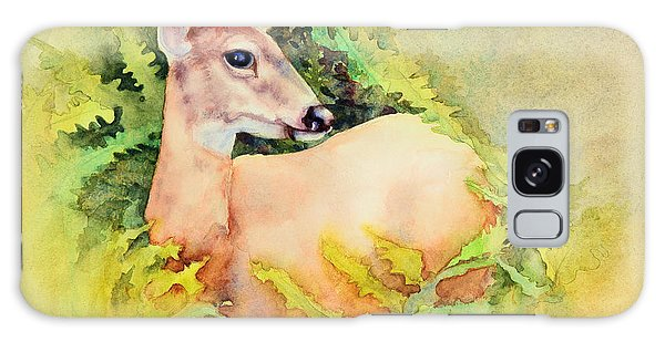 Doe In Ferns Galaxy Case