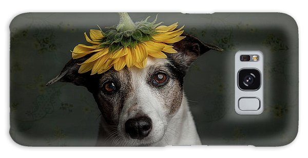 Lady Galaxy Case - Does She Realize She Looks Like A Sunflower.... by Heike Willers