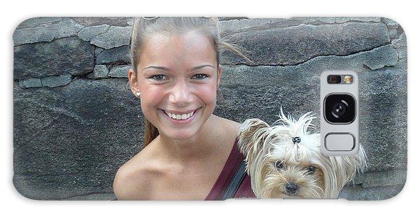 Dog And True Friendship 5 Galaxy Case